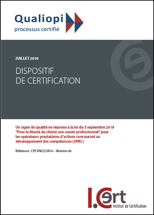 Dispositif couverture qualiopi