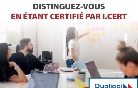 Certification Qualiopi I.Cert Institut Certificateur